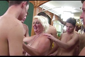 Rimming,bukkake,granny,group sex,mature,straight