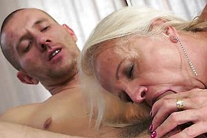 Anal,blonde,blowjob,european,fingering,granny,toys