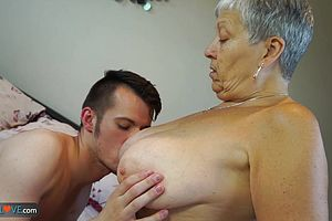 blowjob,mature,old And Young,straight,granny