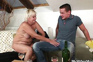 Blonde,blowjob,granny,hardcore,reality