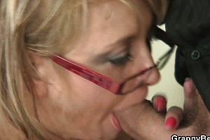 Blonde,blowjob,granny,mature,reality
