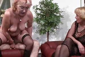 large Tits,german,granny,mature,threesome,straight