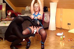 Straight,german,amateur,mature,blonde,toys,fetish,bondage,bdsm,nipples,stockings,granny