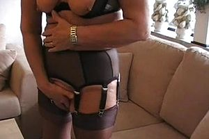 granny,stockings,mature,toys,straight