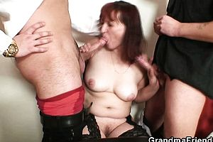 blowjob,granny,group sex,reality