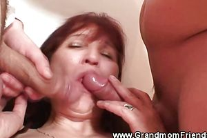 Amateur,blowjob,granny,group Sex,mature,threesome