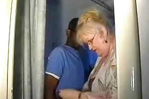 interracial,couple,granny,big Cock,straight