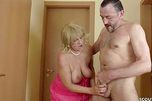 German,granny,hairy,hardcore,old young,seduced,young,shower