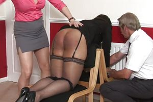 big Butt,black And ebony,spanking,granny,couple