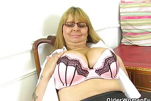 British,cougar,milf,matures,striptease,funny,granny