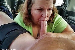 Blowjob,mature,granny,cum in Mouth,cum swallowing,american